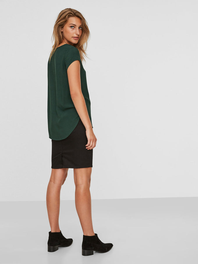 Boca Short Sleeve Blouse PINE GROVE