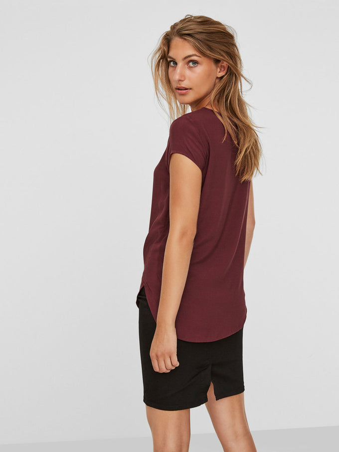 Boca Short Sleeve Blouse PORT ROYALE