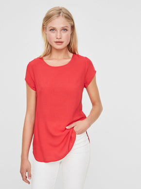 VMBOCA SHORT SLEEVE BLOUSE