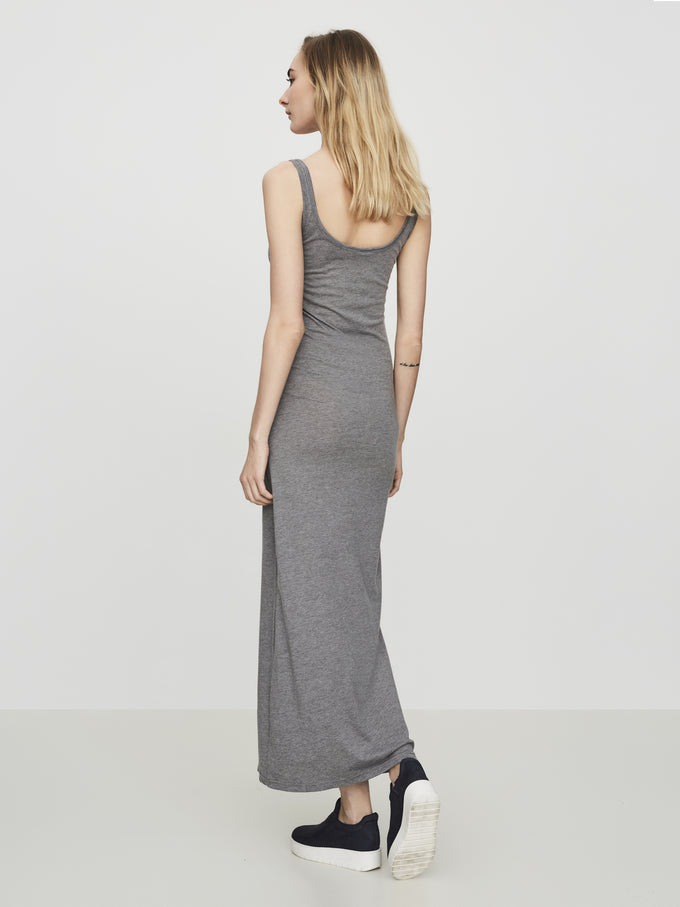 VMNANNA MAXI DRESS Medium Grey Melange