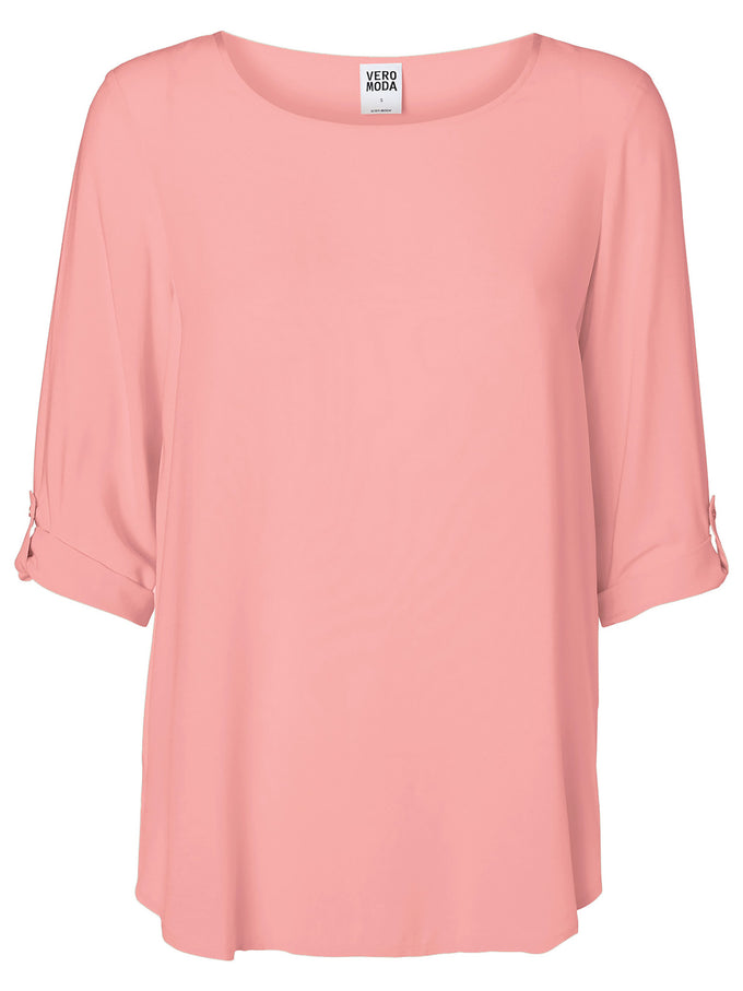 BLOUSE À MANCHES 3/4 VMBOCA ROSE MARIAGE