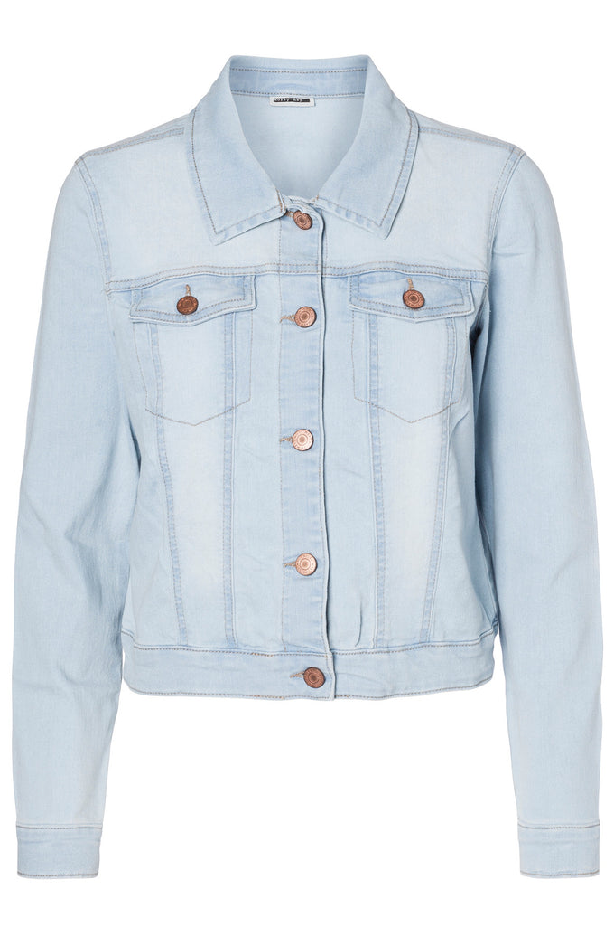 NMDEBRA DENIM JACKET LIGHT BLUE DENIM