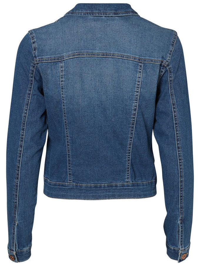 NMDEBRA DENIM JACKET MEDIUM BLUE DENIM