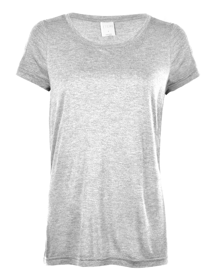 T-SHIRT VMJOY GRIS PALE