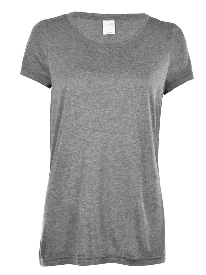 VMJOY T-SHIRT MEDIUM GREY MELANGE