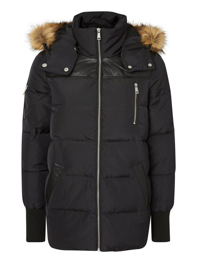 F-NMPUFF DOWN JACKET BLACK