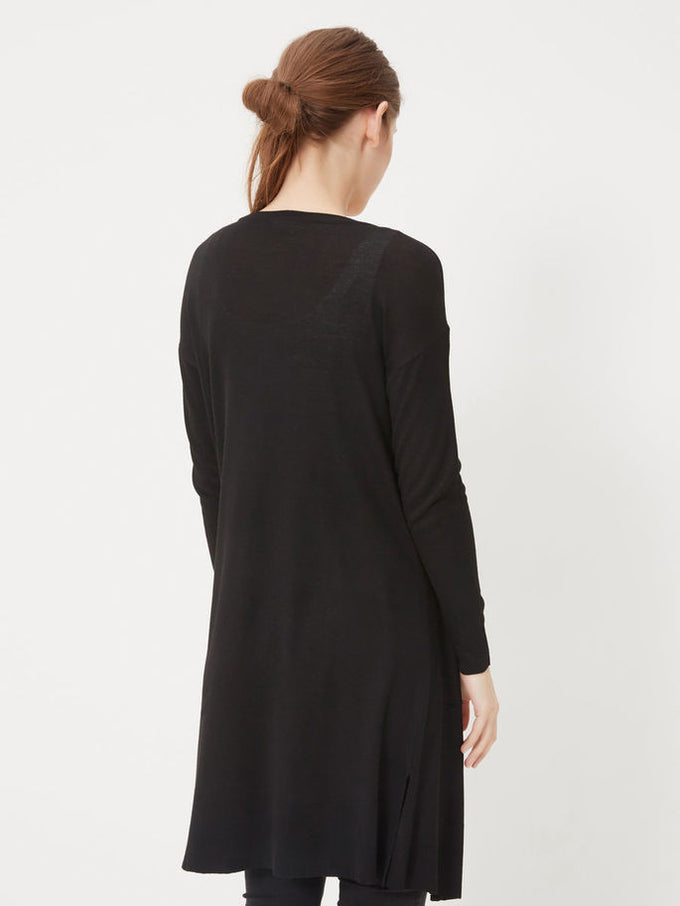 NMBECCA LONG CARDIGAN Total Eclipse