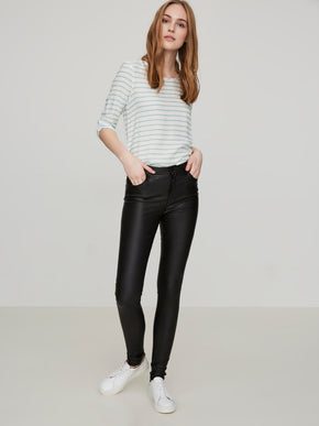 VMNINE COATED SLIM FIT PANTS