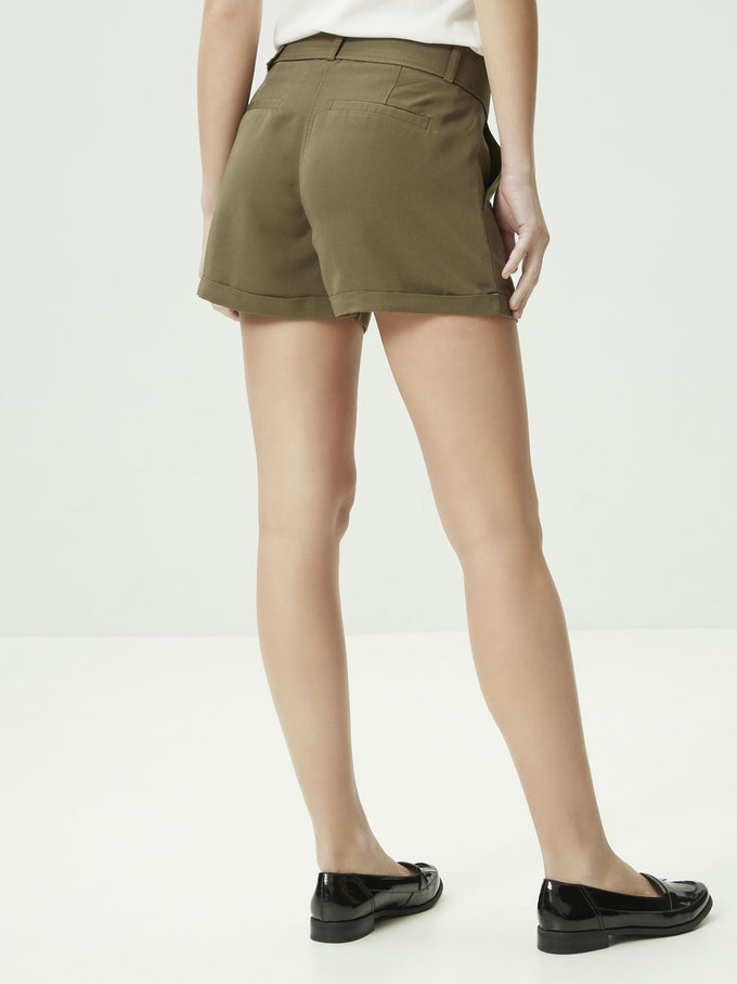 VMOFIRA SHORTS IVY GREEN