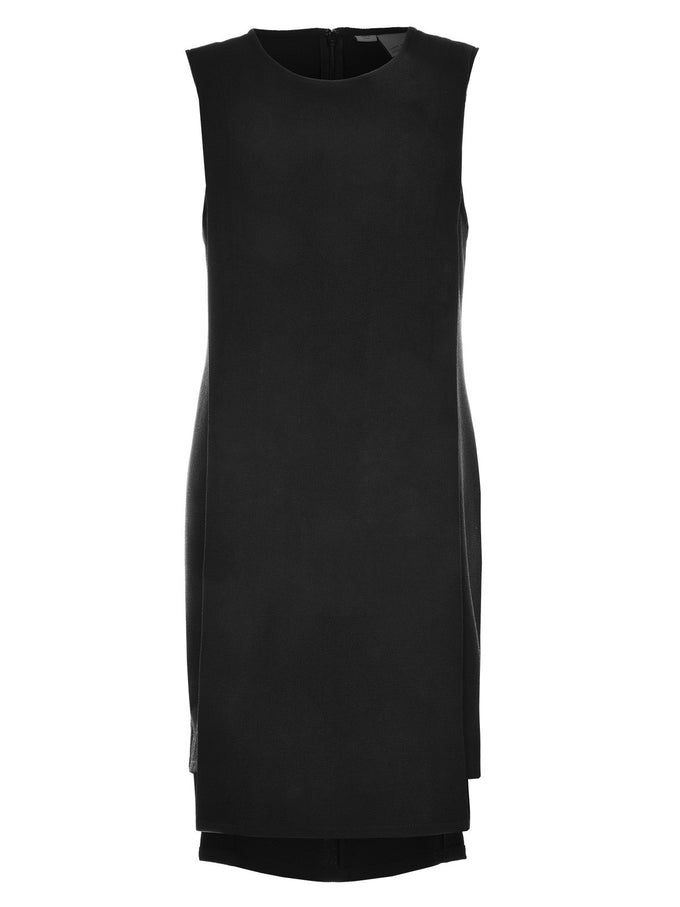 VMGLOW SLIT SHORT DRESS BLACK