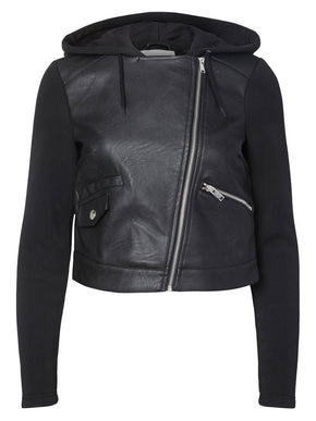 F-NMTROY FAUX-LEATHER JACKET