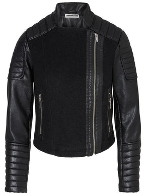 NMMAINE FAUX-LEATHER JACKET
