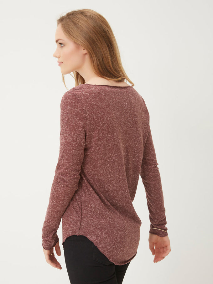 Long Sleeve T-Shirt ZINFANDEL