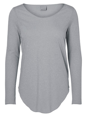LONG SLEEVE TWO-TONE T-SHIRT