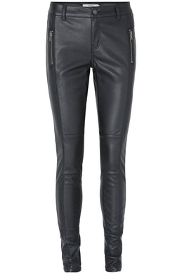 VMSEVEN MAGGIE FAUX-LEATHER PANTS