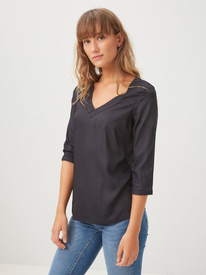 VMBRIT TOP BLACK