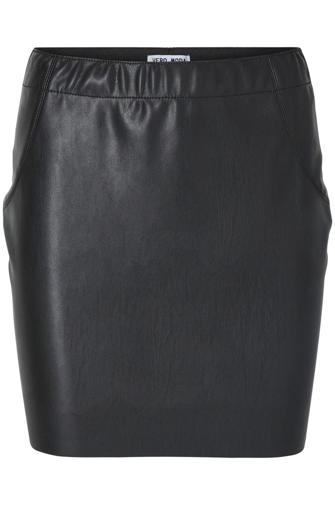 VMJUDY SHORT SKIRT BLACK BEAUTY