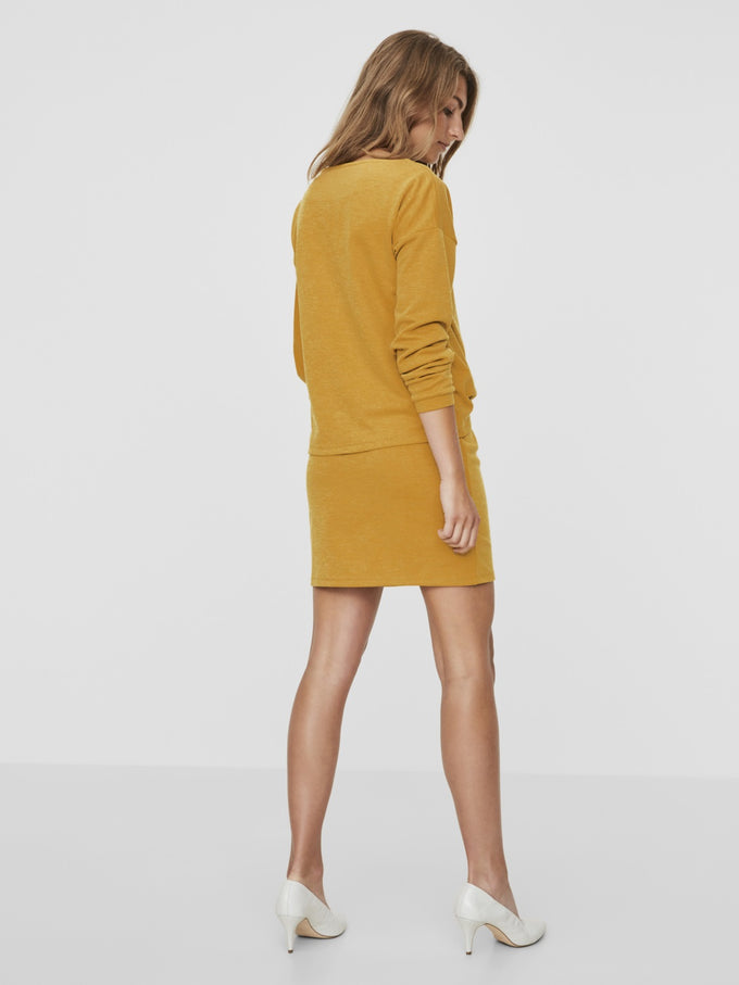 SOFT SWEATER-DRESS THAI CURRY