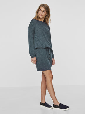 SOFT SWEATER-DRESS