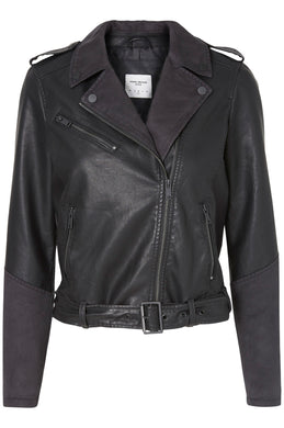VMDALLON FAUX-LEATHER JACKET