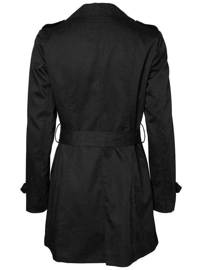 VMONABBY TRENCHCOAT BLACK