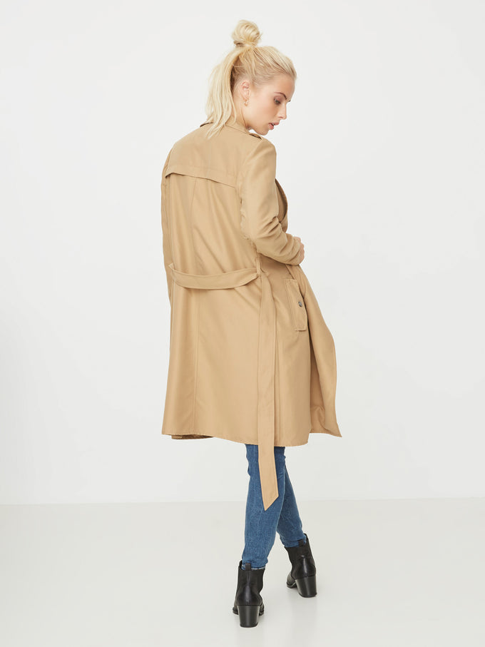 MANTEAU ENVELOPPE LONG SABLE