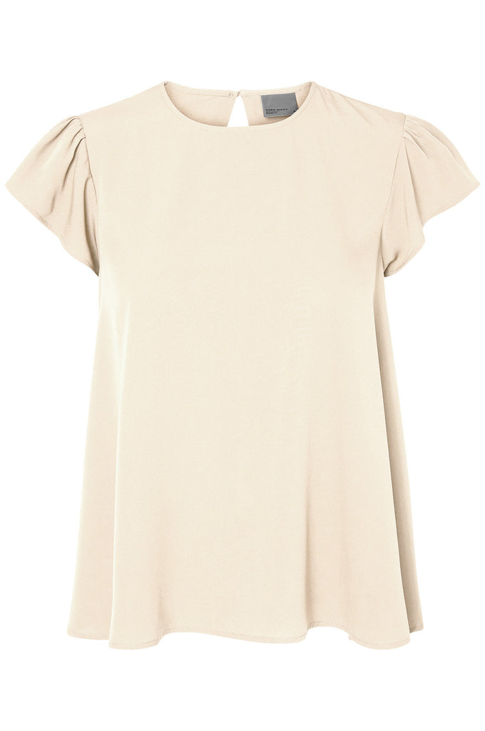 F-VMEMILY BLOUSE IVORY CREAM