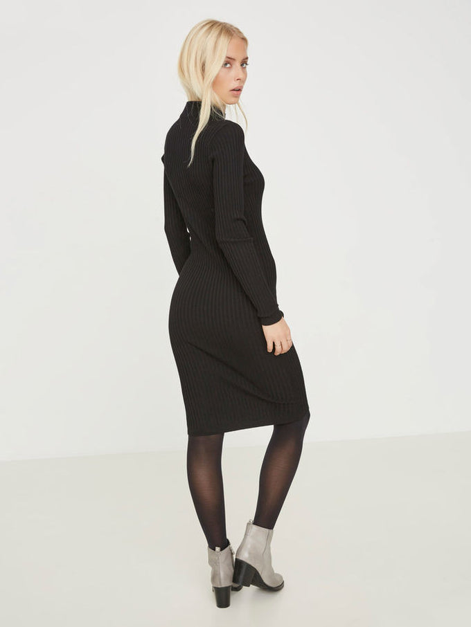 NMRIMI KNIT DRESS Black