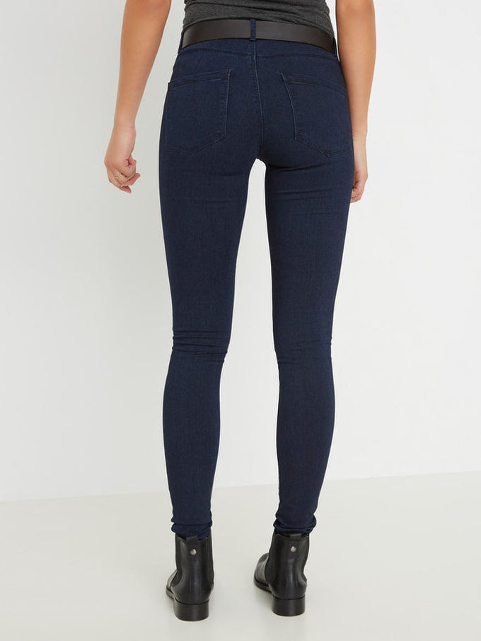VMFLEX-IT SLIM JEANS Dark Blue Denim