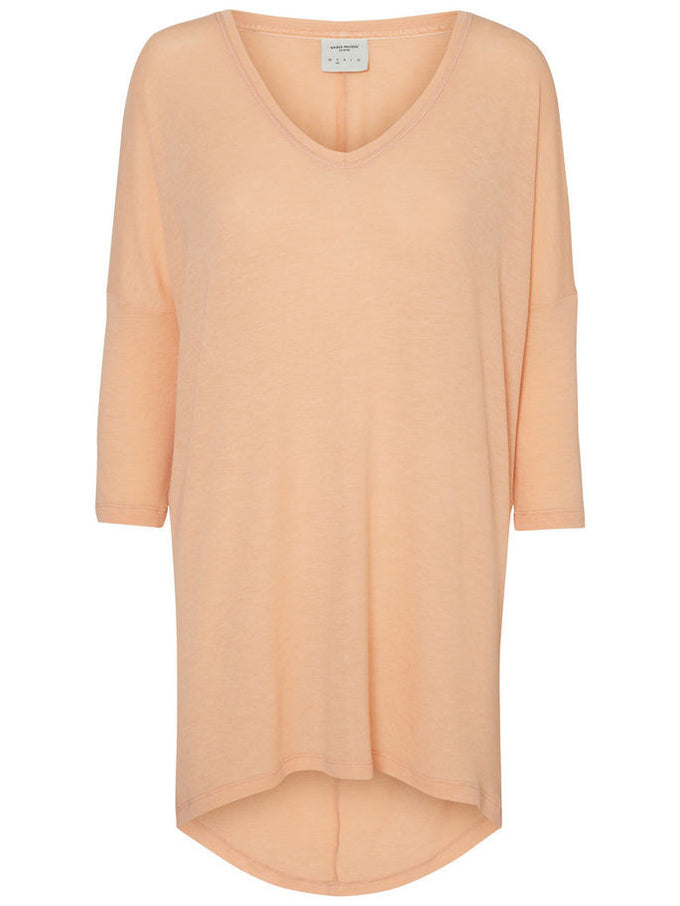 VMHONIE 3/4 T-SHIRT DUSTY CORAL