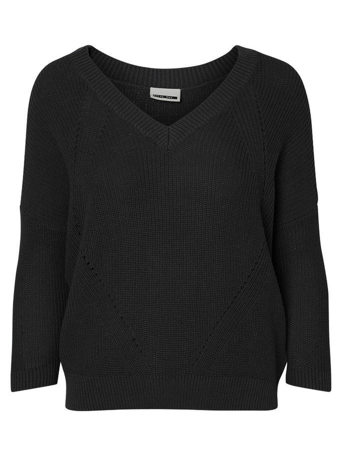 NMSIAN SWEATER BLACK