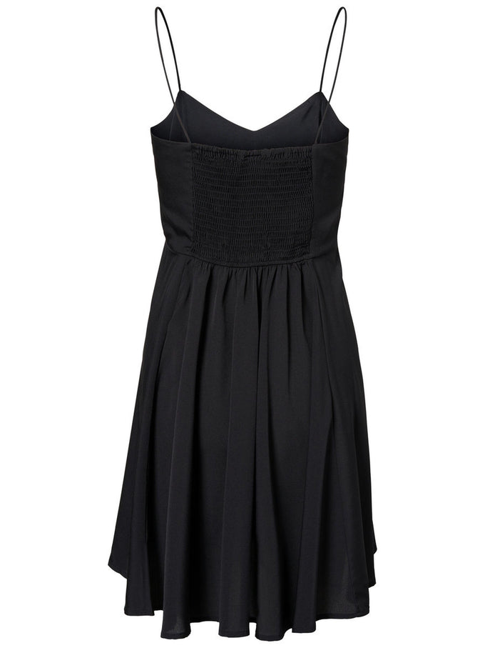 SHORT CAMI DRESS BLACK