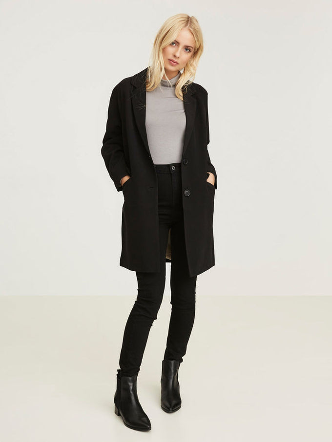 VMSOLO 3/4 COAT Black