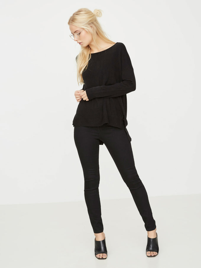 NMCHEN SWEATER Black