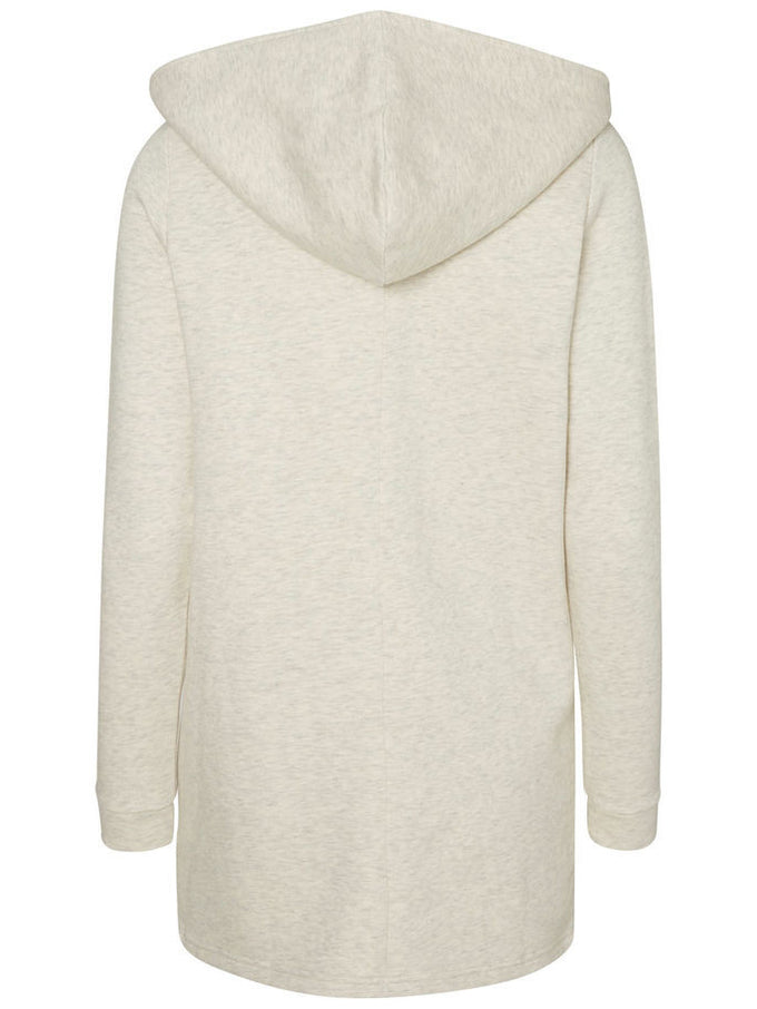 NMRAINY LONG SWEATSHIRT SNOW WHITE