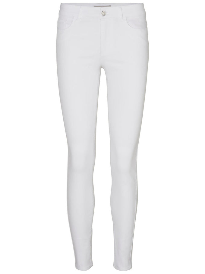 SLIM FIT ANKLE PANTS BRIGHT WHITE