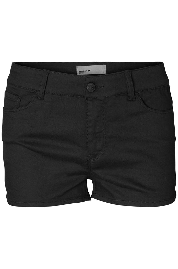 COLOURFUL STRETCH SHORTS BLACK