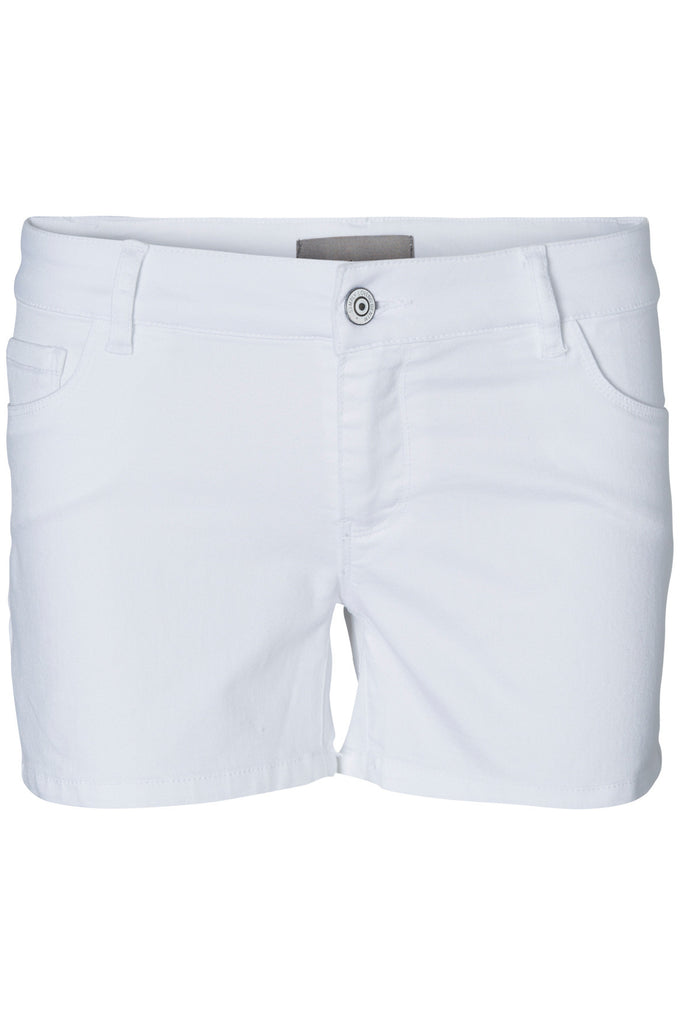 COLOURFUL STRETCH SHORTS BRIGHT WHITE