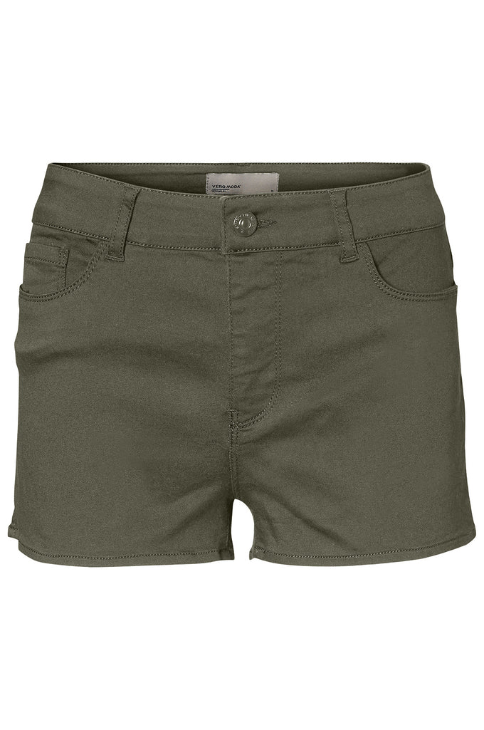COLOURFUL STRETCH SHORTS IVY GREEN