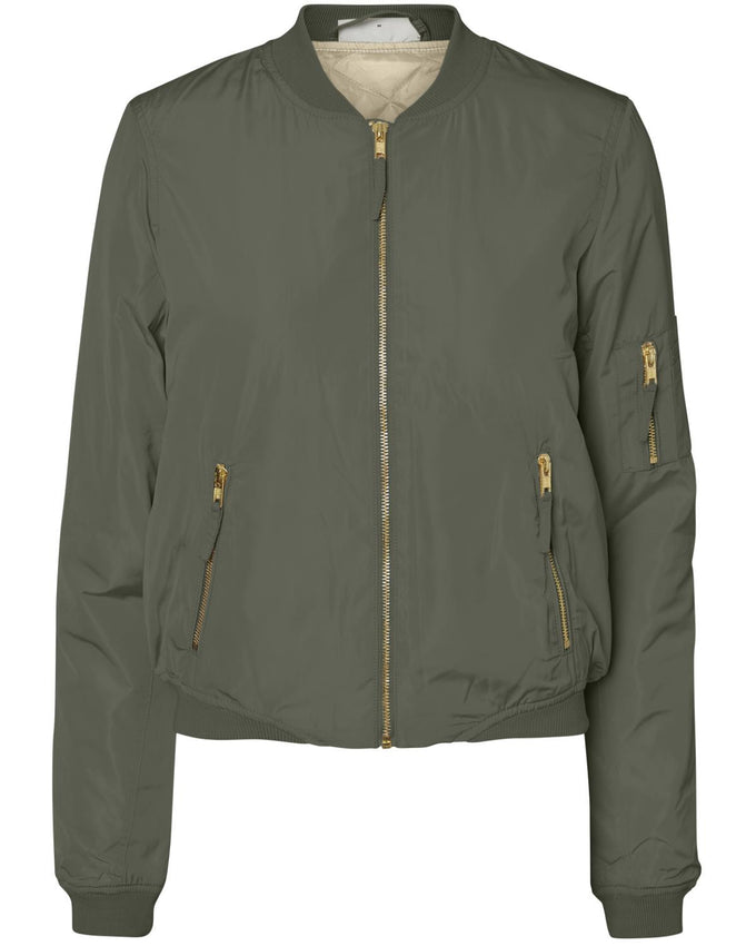 NMSPACE UNIVERSE BOMBER JACKET Ivy Green