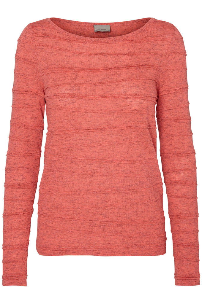 VMMONTANA SWEATER GEORGIA PEACH