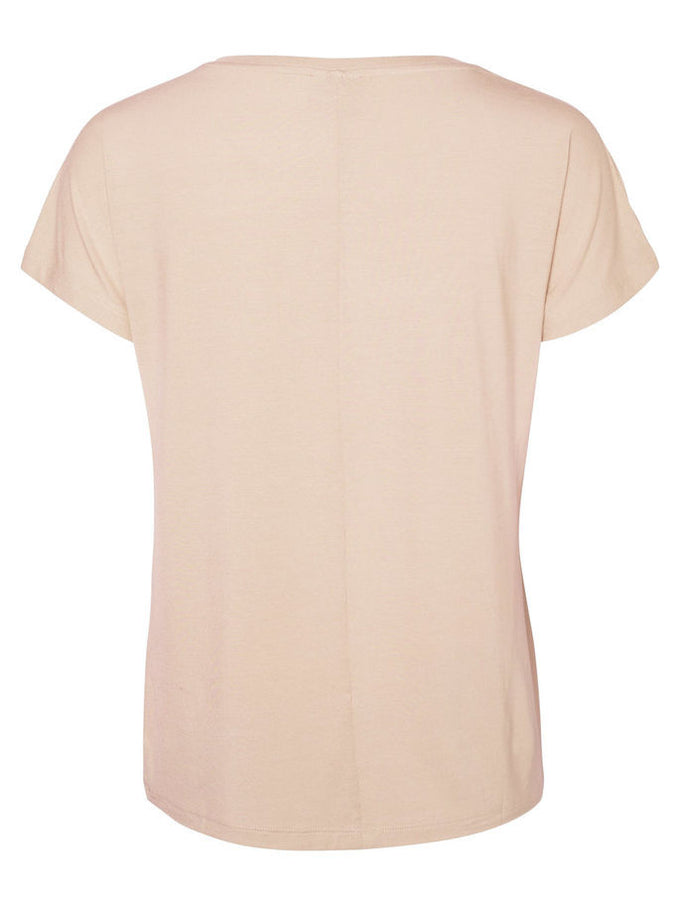 T-SHIRT VMCHARLY VIEUX ROSE