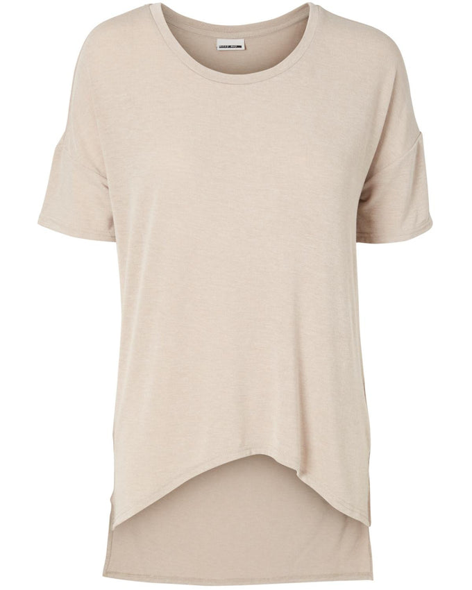 NMGABRIELA HIGH-LOW T-SHIRT MOON ROCK