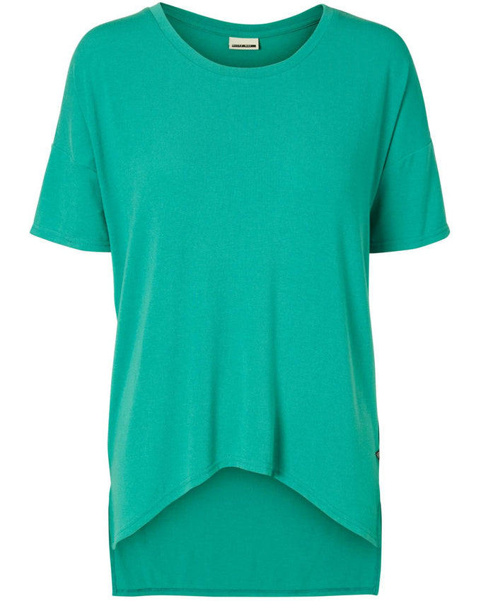 NMGABRIELA HIGH-LOW T-SHIRT TIDEPOOL