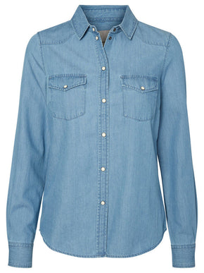 VMDAISY DENIM SHIRT