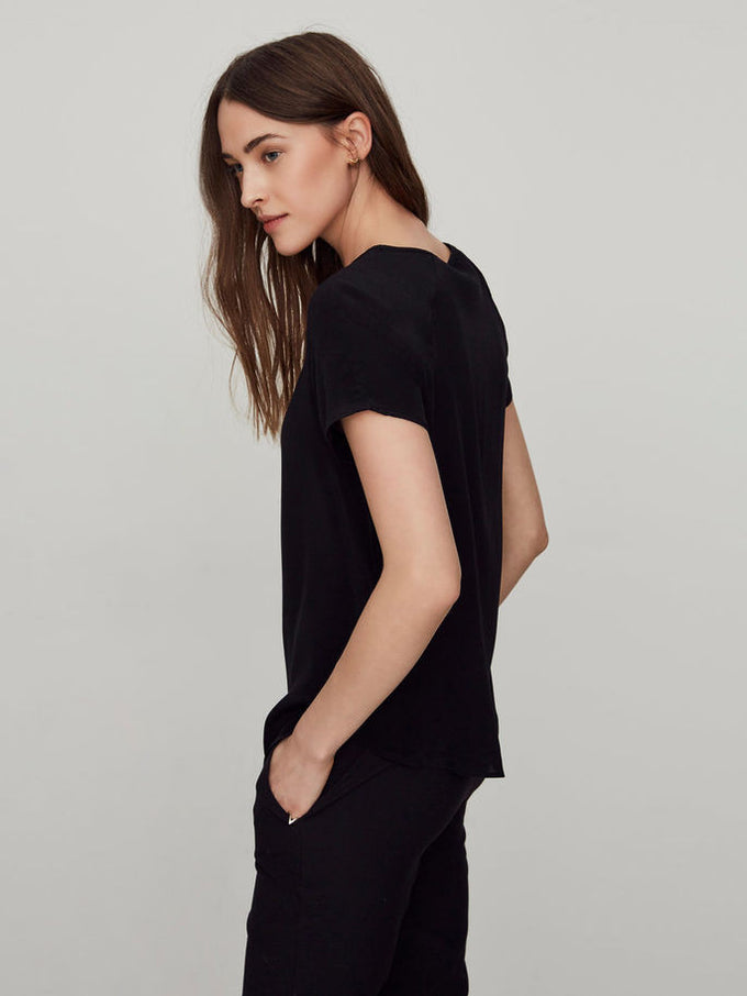 VMCALLIE BLOUSE BLACK