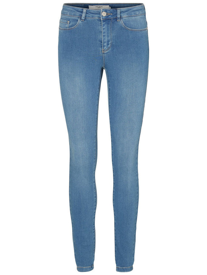 VMSEVEN SLIM SMOOTH 404 JEANS Light Blue Denim
