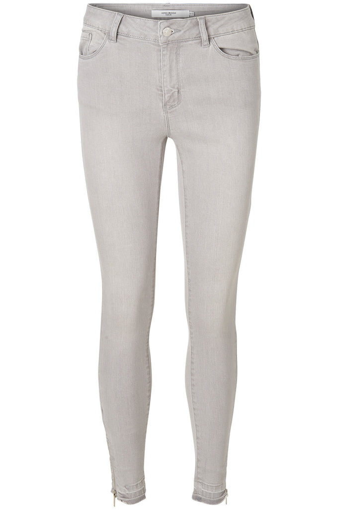 VMSEVEN SLIM ANKLE JEANS LIGHT GREY DENIM