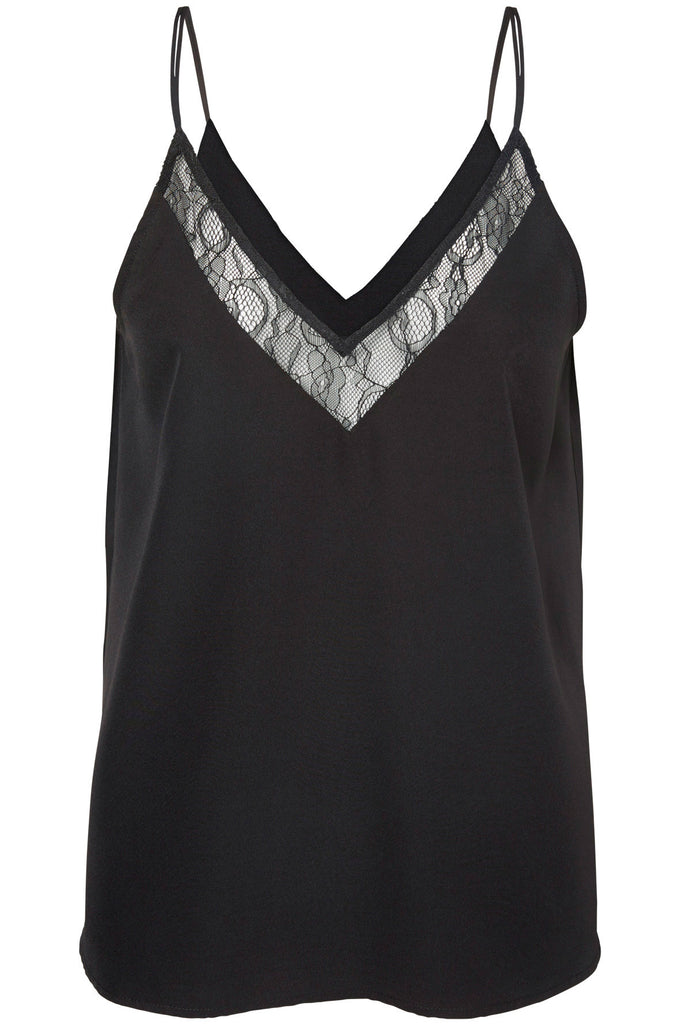 CAMISOLE VMARROWS NOIR