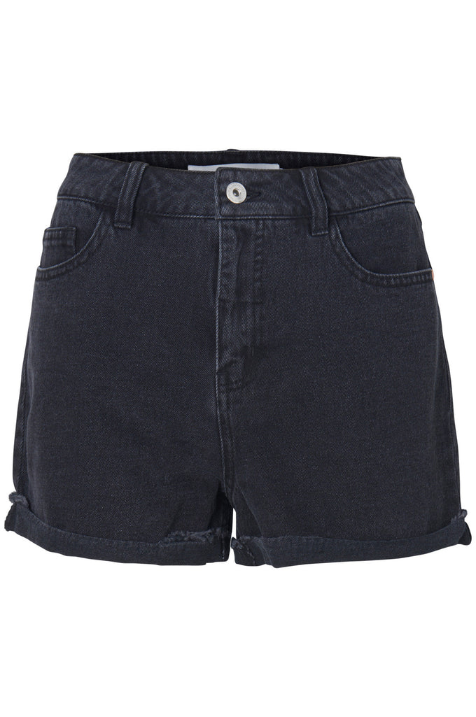 SHORT EN DENIM VMBE NOIR